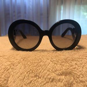 Prada Women's Sunglasses - Black Frame
